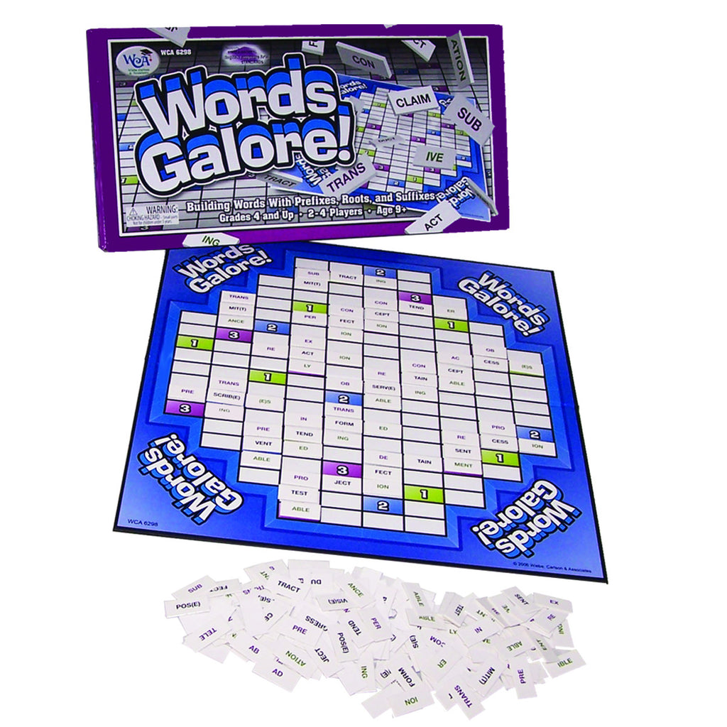 Words Galore Game