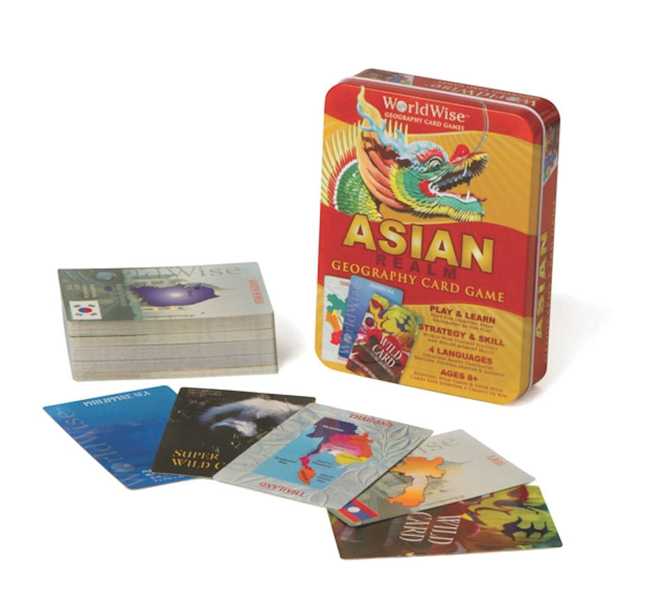 WorldWise Asian Card Game