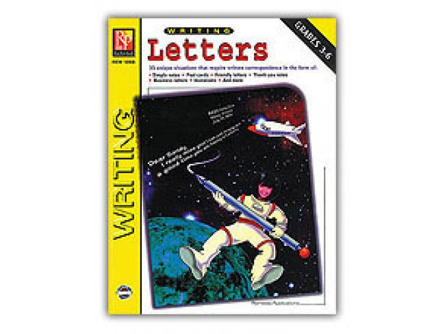 Writing Letters Workbook - EducationalLearningGames.com