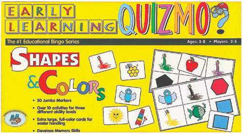 Early Learning Quizmo Shapes & Colors Game