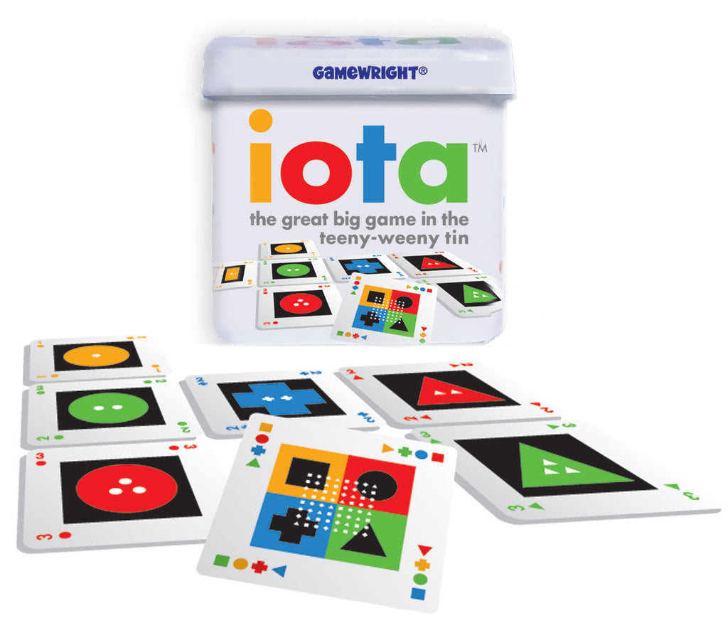iota The Great Big Game in the Teeny Weeny Tin - EducationalLearningGames.com