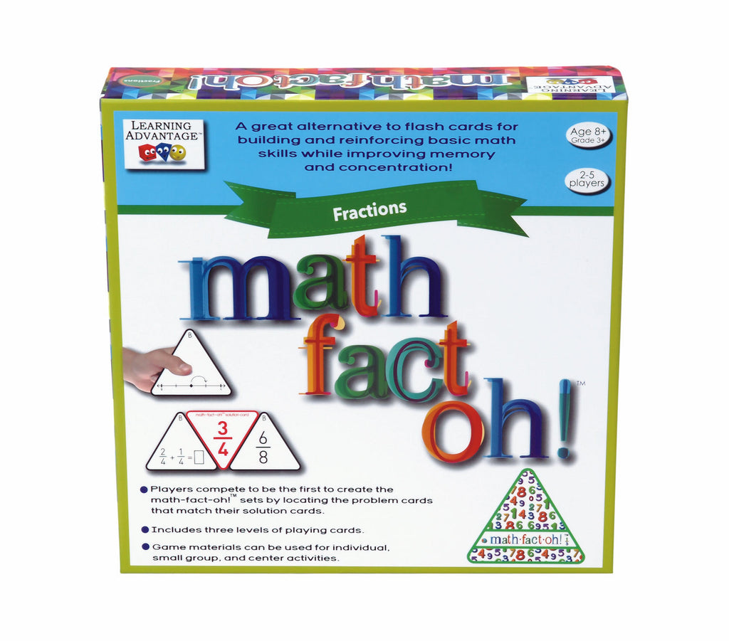 math-fact-oh! Fractions Game
