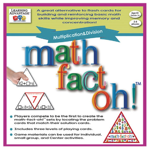 math-fact-oh!™ Multiplication & Division