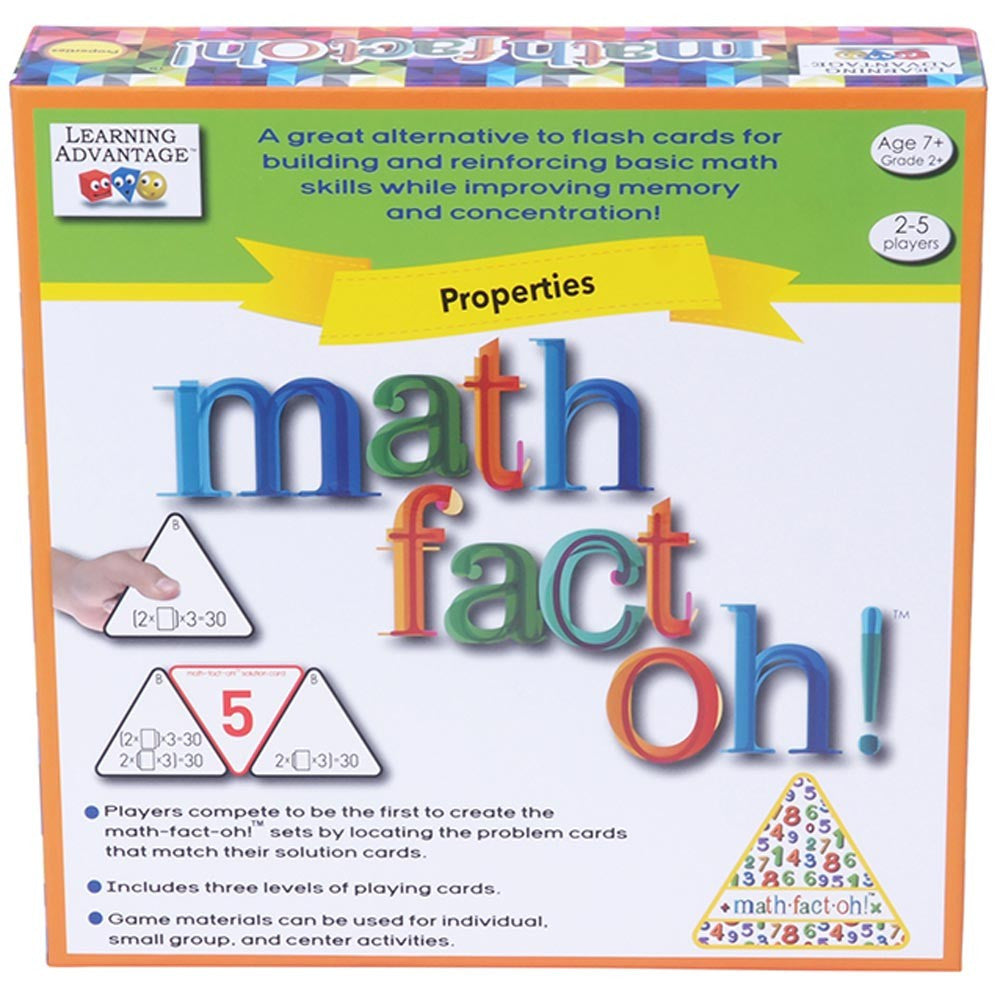 math-fact-oh! Properties Game - EducationalLearningGames.com