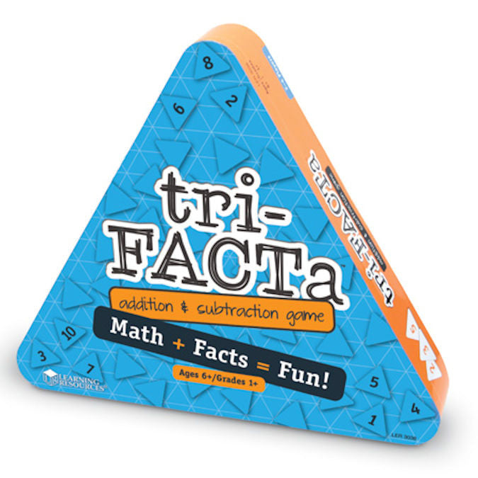 tri-FACTa Addition and Subtraction Game - EducationalLearningGames.com