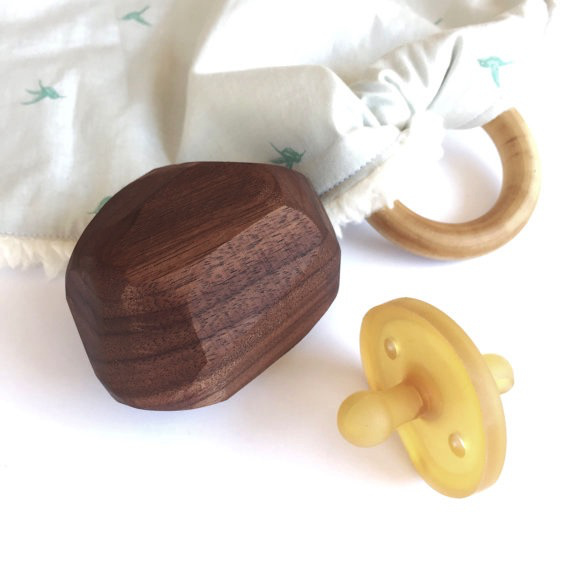 WOODEN BABY RATTLE