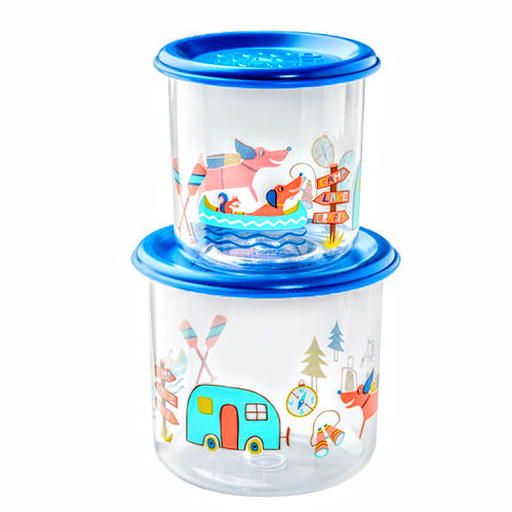 SNACK CONTAINERS 2PACK