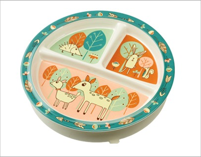 SUGARBOOGER DIVIDED SUCTION PLATE BABY DEER