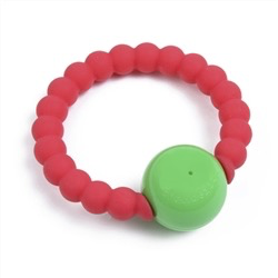 CHEWBEADS SILICONE MERCER RATTLE