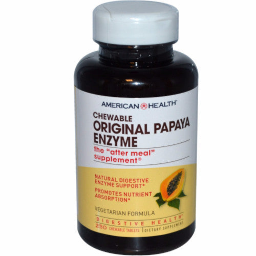 CHEWABLE PAPAYA ENZYME 100 TABLETS