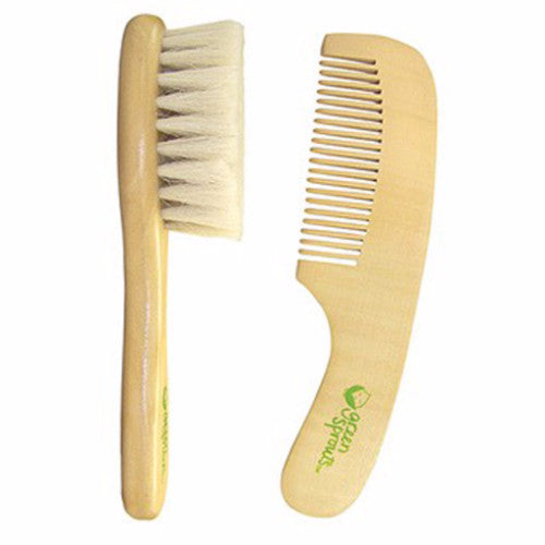 GREEN SPROUTS - BRUSH & COMB SET