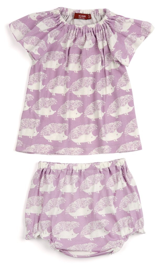 Milkbarn Peasant Dress and Bloomer Set