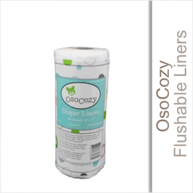 OsoCozy Flushable Liners 100ct