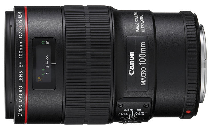 Canon EF 100mm f2.8L Macro IS USM Lens - Photocreative (905) 629-0100