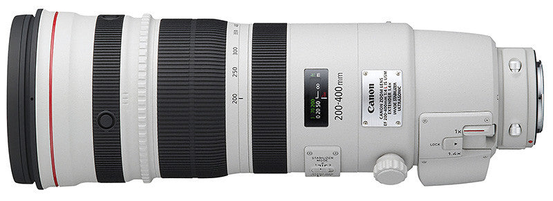 Canon EF 200-400mm f4L IS USM Lens with Internal 1.4x Extender - Photocreative (905) 629-0100