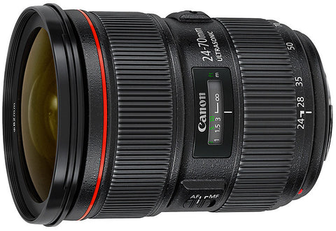 Canon EF 24-70mm f2.8L II USM Lens - Photocreative (905) 629-0100