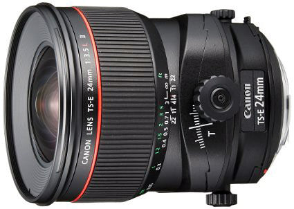Canon EF TS-E 24mm f3.5L II Tilt / Shift lens *special-order - Photocreative (905) 629-0100