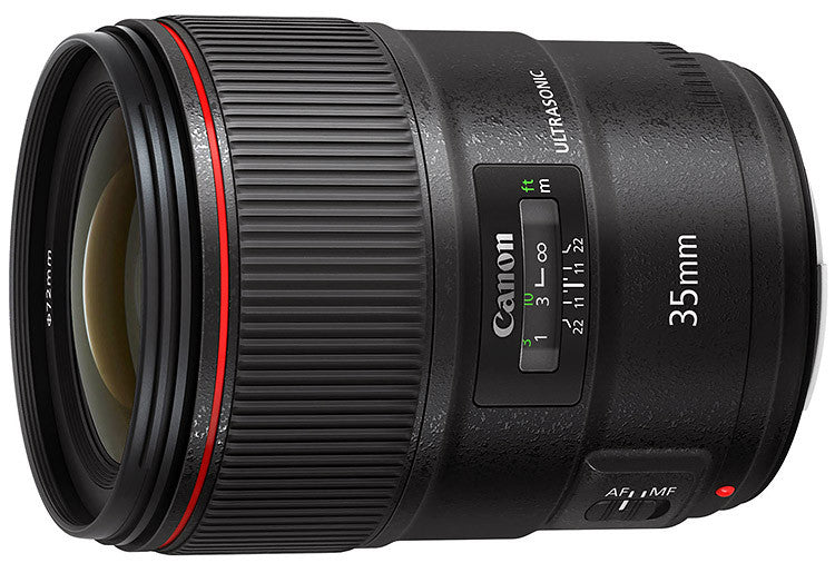 Canon EF-35mm f1.4L II USM lens - Photocreative (905) 629-0100