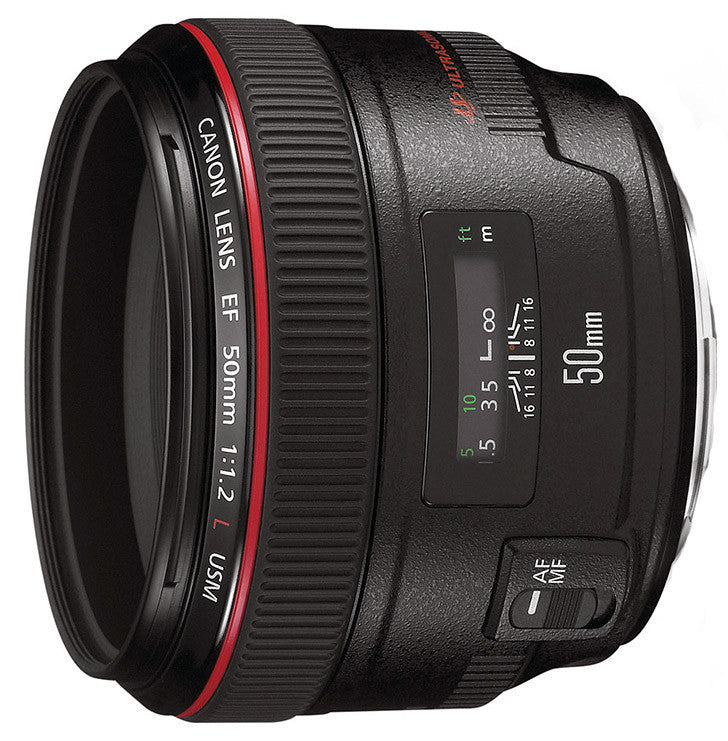 Canon EF 50mm f1.2L USM Lens - Photocreative (905) 629-0100