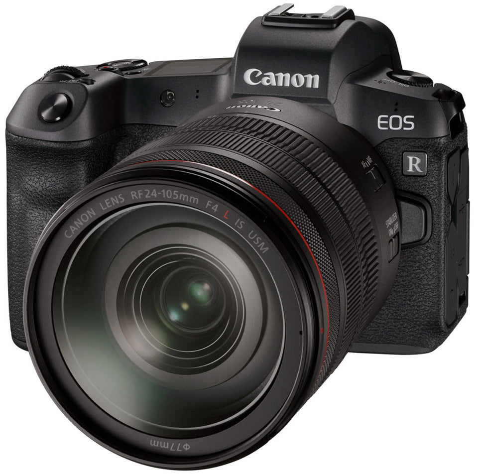 front view of Canon EOS-R, R Mirrorless camera trade in my camera, sell my camera, Toronto Mississauga Canada