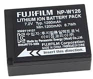 Fujifilm NP-W126-U Rechargeable Lithium-Ion Battery - Photocreative (905) 629-0100