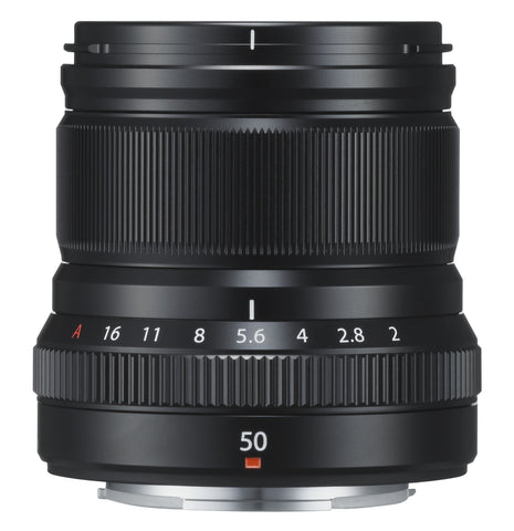 Fujifilm Fujinon Fuji XF 50mm f2 R WR lens (black or silver) - Photocreative (905) 629-0100 - 1
