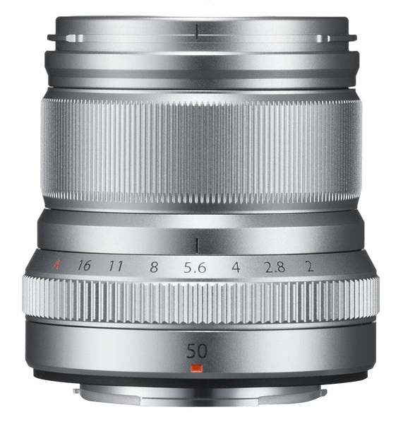 Fujifilm Fujinon Fuji XF 50mm f2 R WR lens (black or silver) - Photocreative (905) 629-0100 - 2