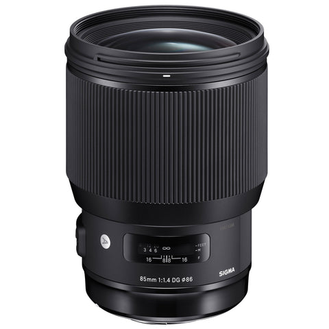 Sigma Art 85mm f1.4 DG HSM Lens (avail. in Nikon & Canon Mount)