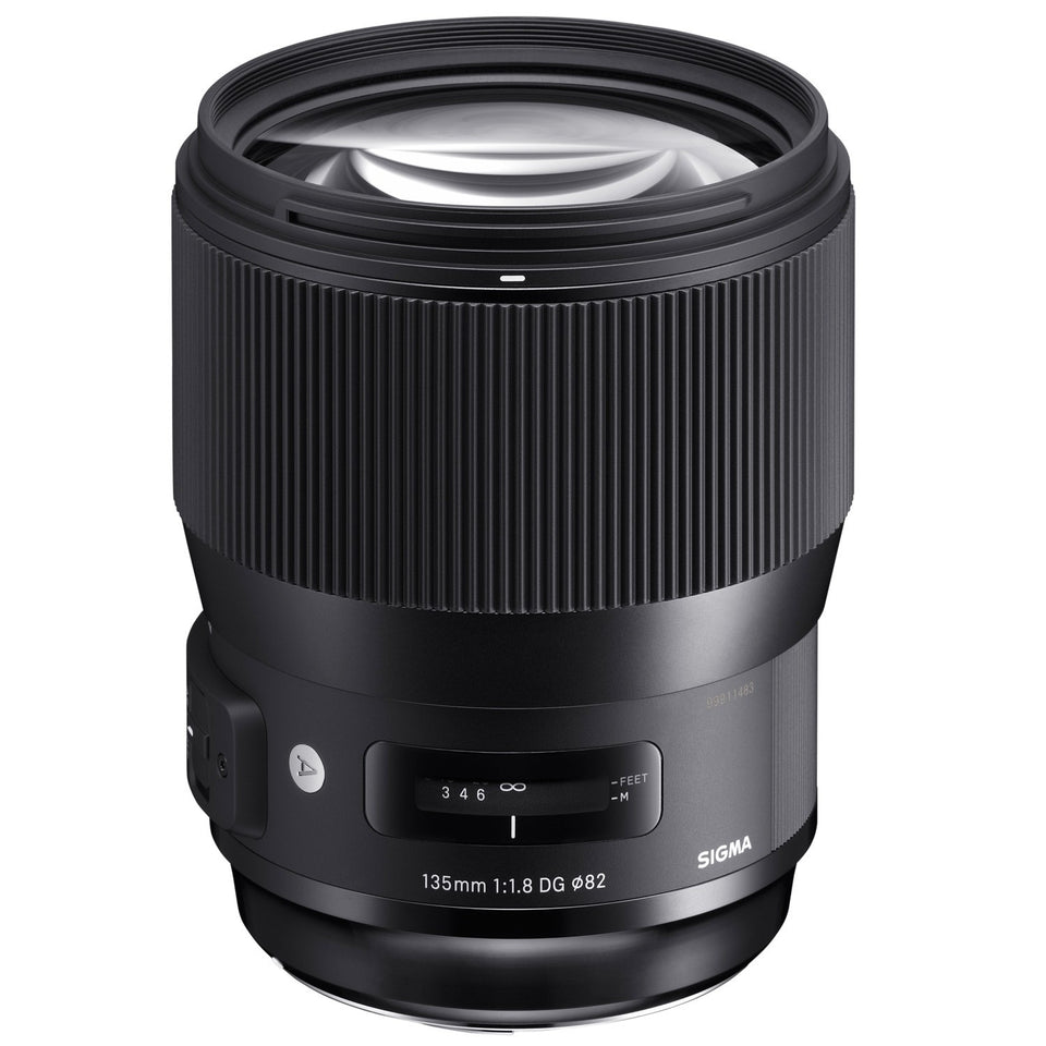 Sigma Art 135mm f1.8 DG HSM Lens (avail. in Nikon & Canon Mount)