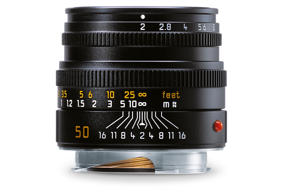 Leica M 50mm f2.0 Summicron Lens, black (E39)
