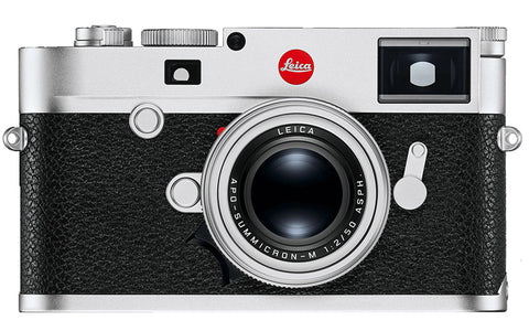 Leica M10-R Rangefinder camera body (silver chrome)