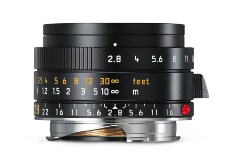 Leica Elmarit-M 28mm f2.8 ASPH (black) Lens - Photocreative (905) 629-0100