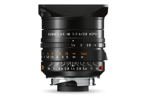 Leica Summilux-M 28 mm f1.4 ASPH, black anodized finish - Photocreative (905) 629-0100 - 1
