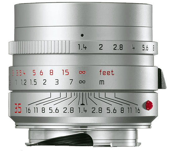 Leica Summilux-M 35mm f1.4-ASPH II FLE lens (Black or Silver) - Photocreative (905) 629-0100 - 3