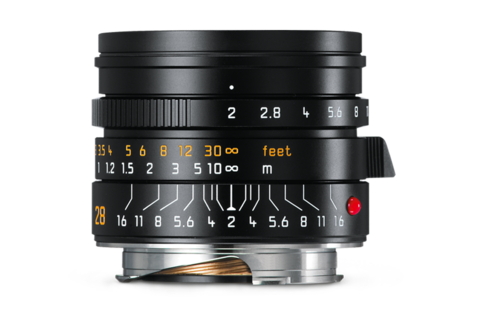 Leica Summicron-M 28mm f2 ASPH Black lens (New for 2016) - Photocreative (905) 629-0100 - 1