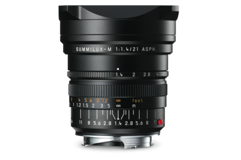 Leica Summilux-M 21mm f1.4 ASPH lens (black) - Photocreative (905) 629-0100 - 1