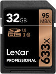 Lexar 32GB Professional UHS-I SDHC Memory Card (U1) 633x - Photocreative (905) 629-0100