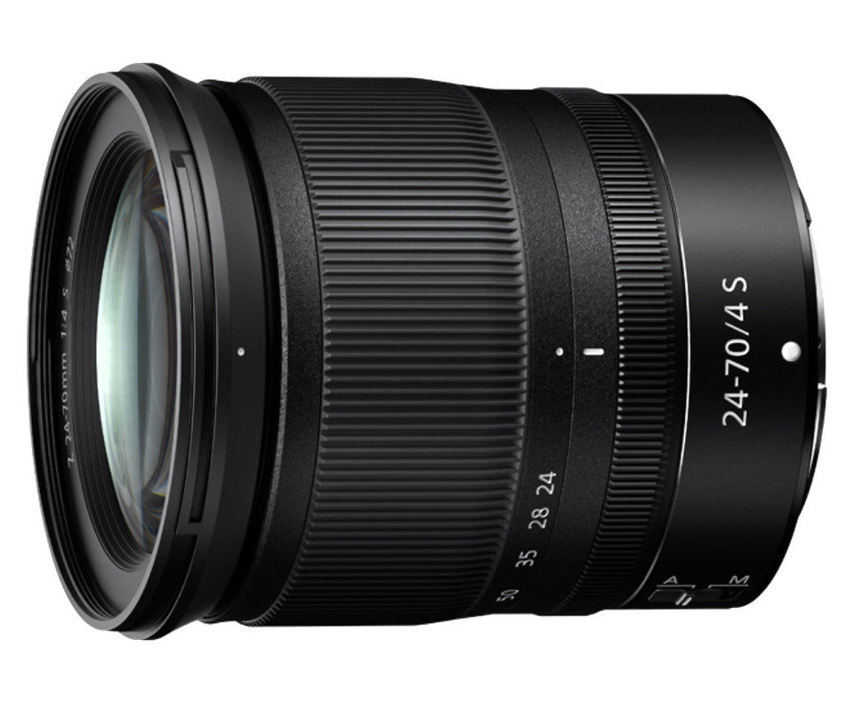 Nikon Z 24-70mm f4 S lens for new Z7, Z 7, Z6, Z 6 Mirrorless Canada
