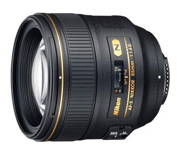 Nikon AF-S Nikkor 85mm F1.4 G lens - Photocreative (905) 629-0100