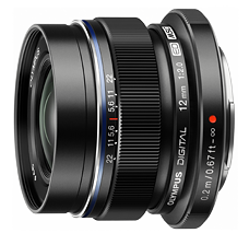 Olympus M.Zuiko 12mm f2.0 lens (Black) - Photocreative (905) 629-0100