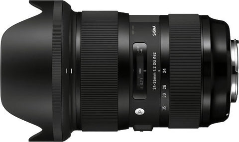 Sigma Art DG HSM 24-35mm f2 lens (avail. in Nikon & Canon Mount) - Photocreative (905) 629-0100