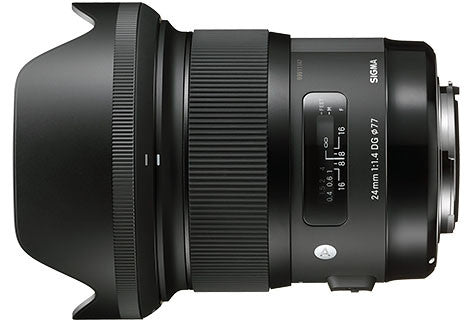 Sigma Art 24mm f1.4 DG HSM Lens (avail. in Nikon & Canon Mount) - Photocreative (905) 629-0100