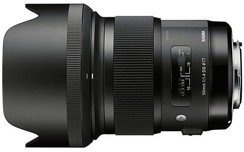 Sigma Art 50mm f1.4 DG HSM Lens (avail. in Nikon & Canon Mount) - Photocreative (905) 629-0100