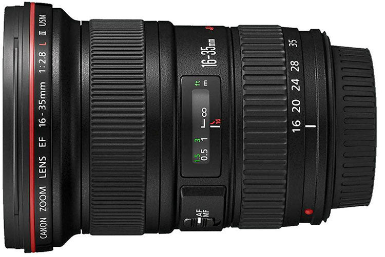Canon EF 16-35mm f2.8L II Lens - Photocreative (905) 629-0100