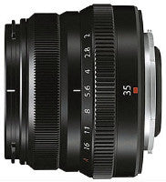Fujifilm Fujinon XF 35mm f2 WR lens  (black or silver) - Photocreative (905) 629-0100 - 1