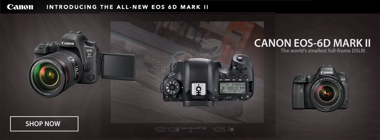 The new Canon EOS-6D Mark II at Photocreative