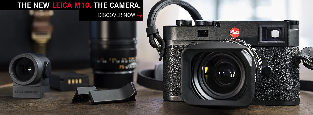 All new Leica M10 at Canada's Photocreative.com
