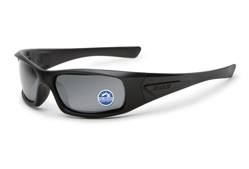 ESS 5B Black Frame, Polarized, Mirrored Gray Lenses - www.unitedruckerssupplycom