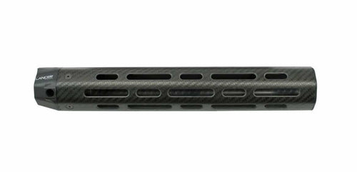 Lancer 12.5in Rifle Length LCH5 Carbon Fiber Handguard, 5.56, No Rails
