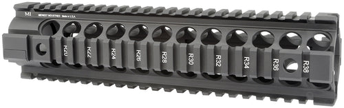 MI Gen2 Two Piece Free Float Handguard, 10-Inch Carbine - Black
